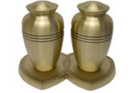 Large Companion Urn Cheadle Companion Brass