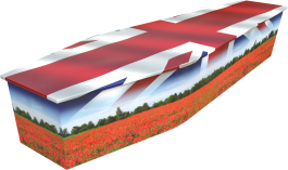 British and proud coffin